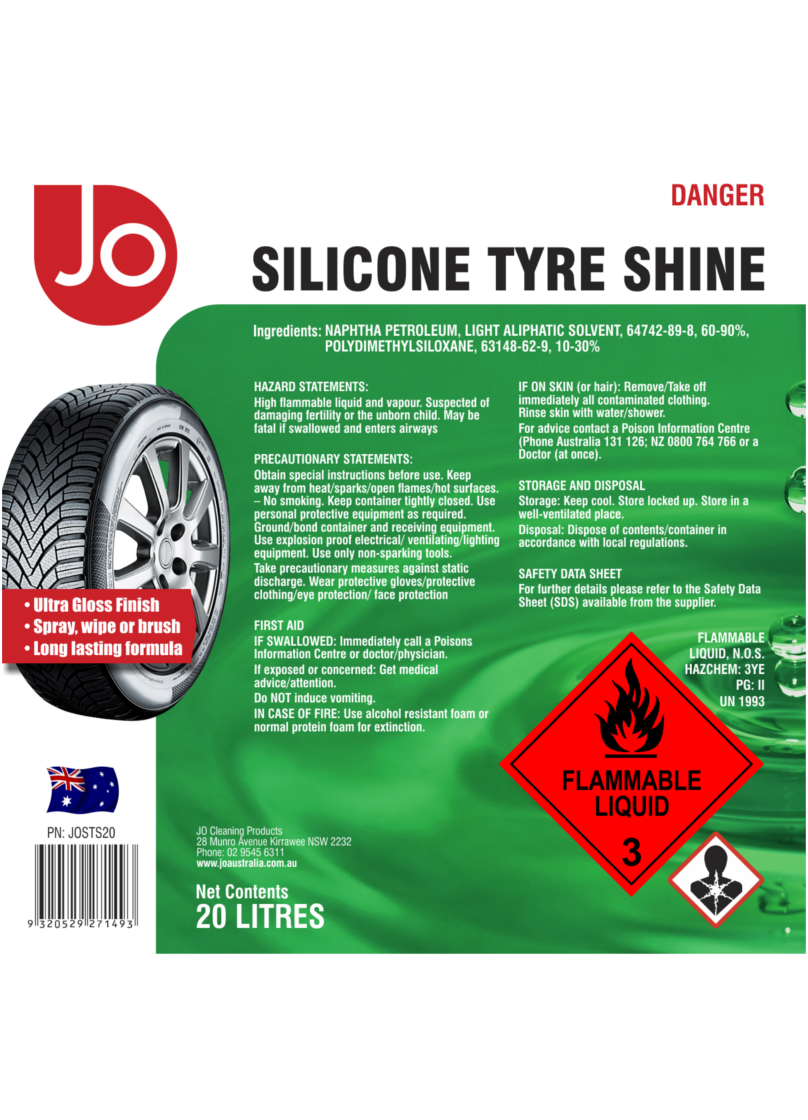 TyreShine_Label