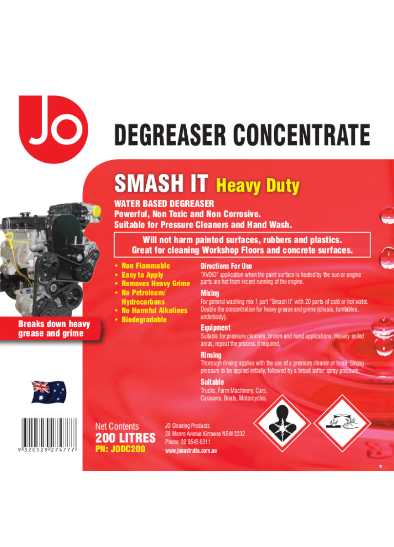 DEGREASER-200L-Label