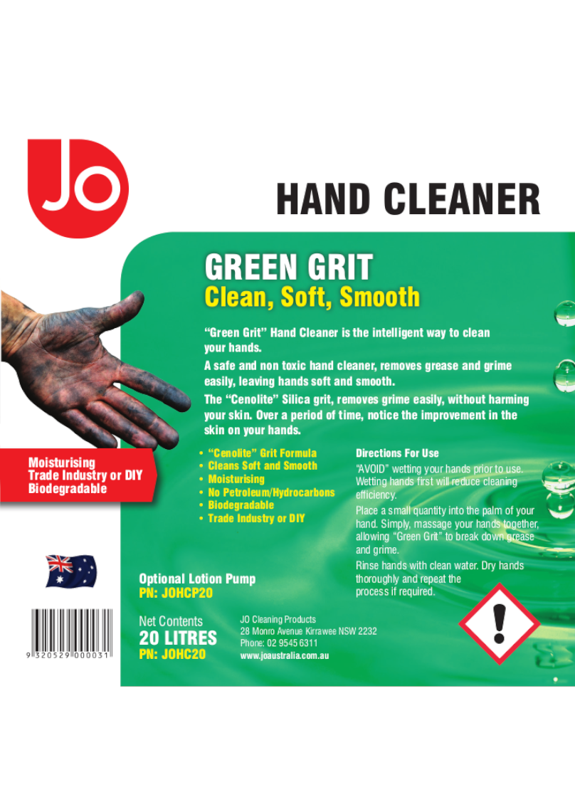 HAND-CLEANER-20L-Label
